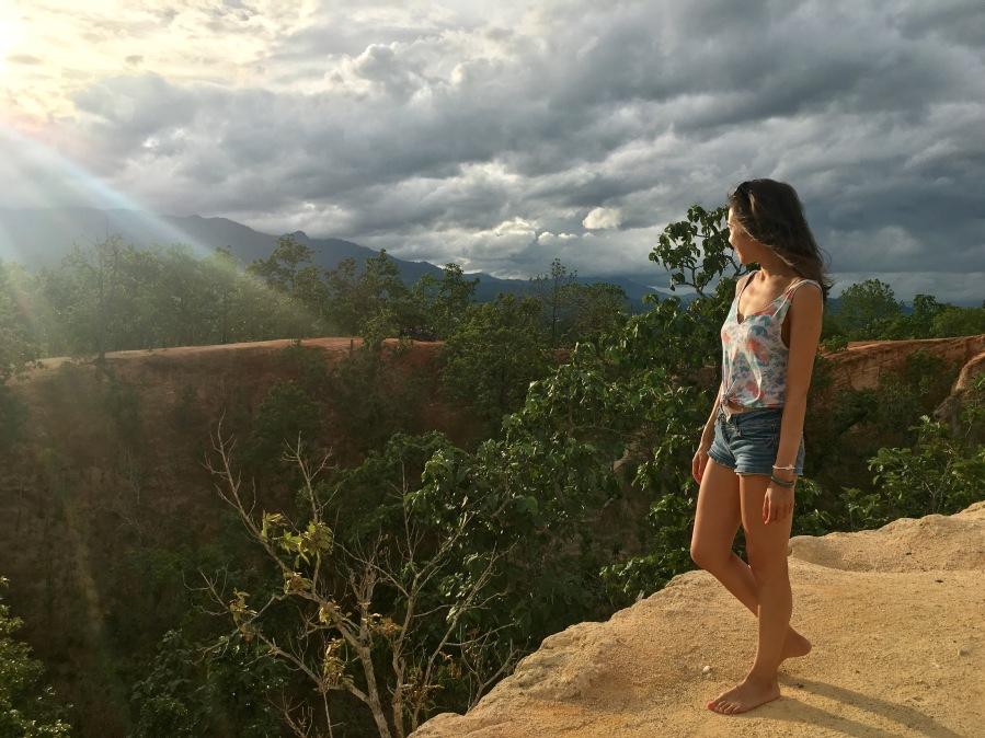 Kiewlom Viewpoint, Tham Lod Cave, Hotsprings, Morpang Waterfall & PaiCanyon
